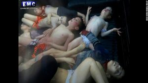 Deadly suspected chemical attack leaves more than 70 dead in Syria.