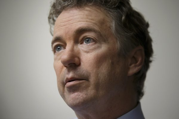 Rand Paul suggests punishing universities who have to many liberal speakers.