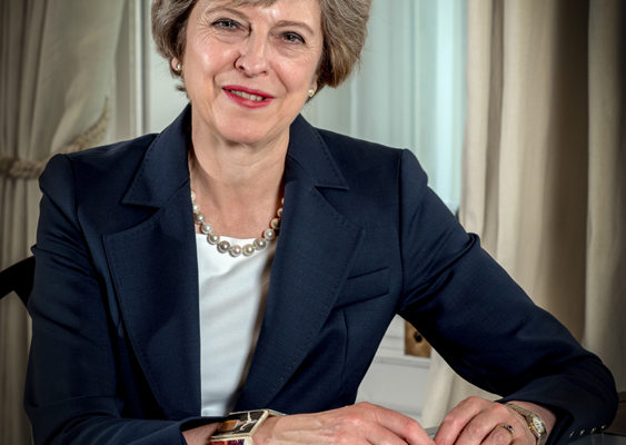 Prime Minister Theresa May calls for Snap Election.