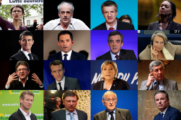 France heads to the polls to pick a President.