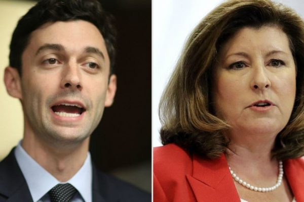 Jon Ossoff and Karen Handel face off for Congressional seat.