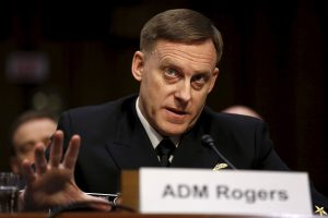 Adm. Michael Rogers Asked by President Trump to Deny Russia Collusion