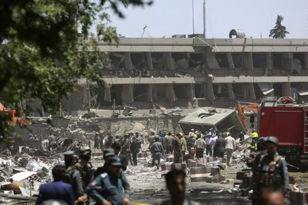 Deadly explosion in Kabul kills 80, wounds hundreds.
