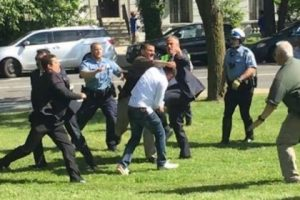 Turkish Government Workers Assault US Citizens during protest