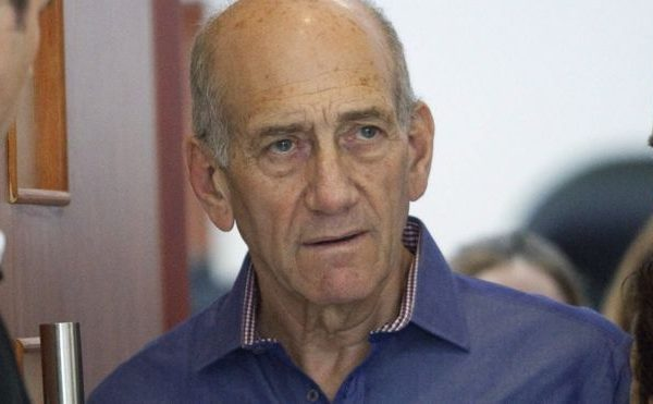 Ehud Olmert released from prison.