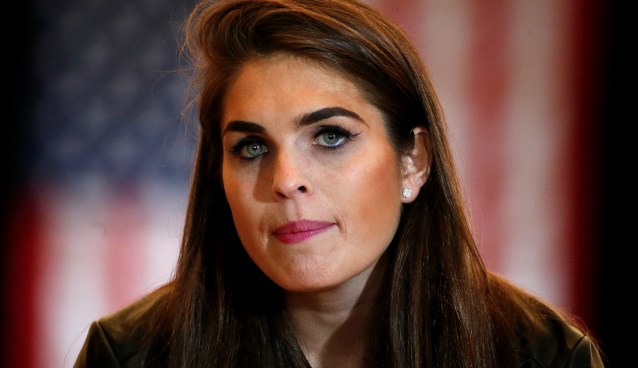 Hope Hicks name White House Communications Director