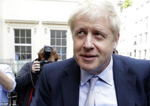Boris Johnson to be UK Prime Miniister